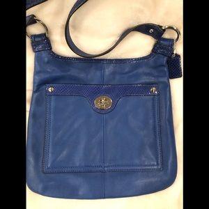 Blue Coach Crossbody Bag